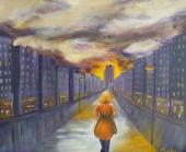 Parcours de vie - Acrylique - 61x50