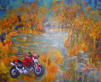 Ducati - Acrylique (vendu)