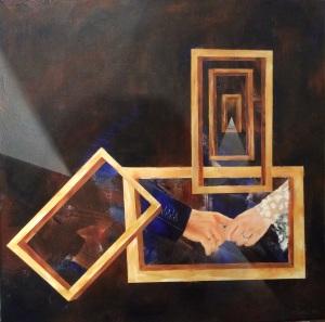 Enfance - Acrylique - 60X60 - 2015