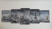 Paris - Acrylique et encre