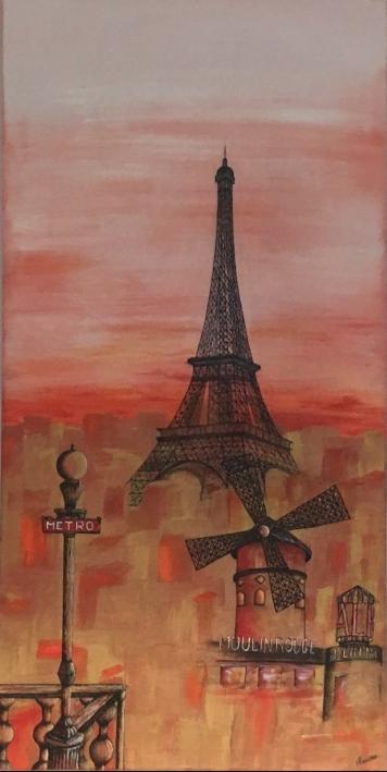 Paris, un soir d'automne